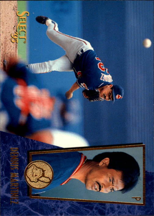 1995 Select #130 Dennis Martinez
