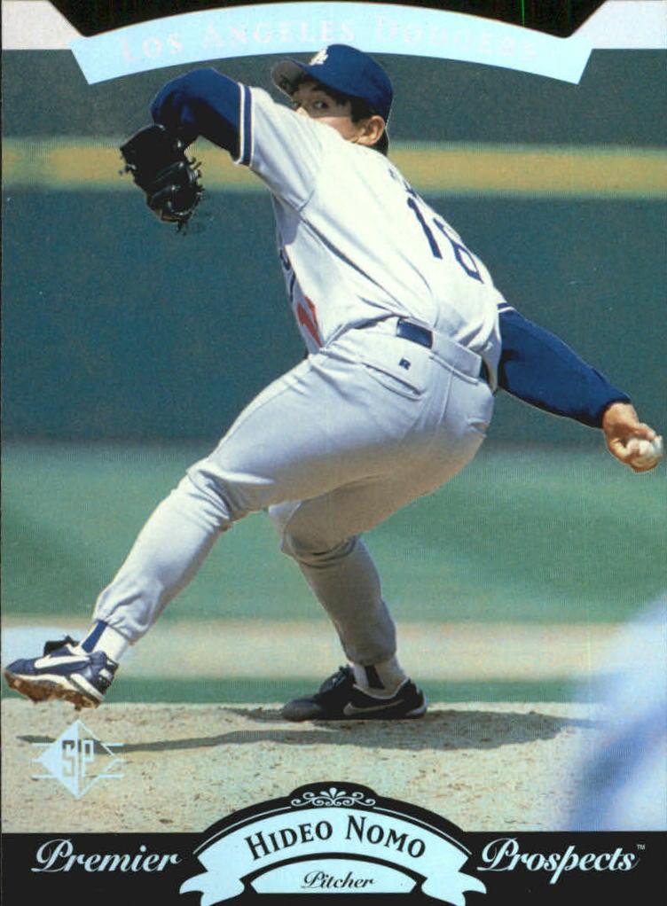 1995 SP Silver #14 Hideo Nomo FOIL