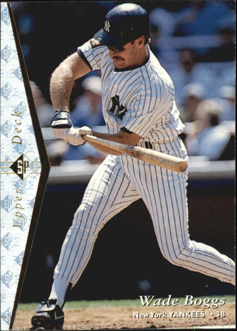 1995 SP Silver #180 Wade Boggs