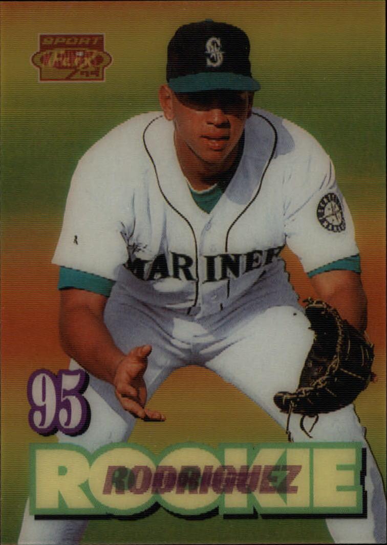 1995 Sportflix 141 Alex Rodriguez Rookie Yankees Nm Mt