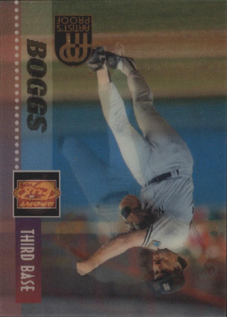 1995 Sportflix Artist's Proofs #107 Wade Boggs