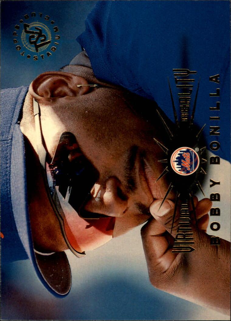 1995 Stadium Club Virtual Reality #60 Bobby Bonilla