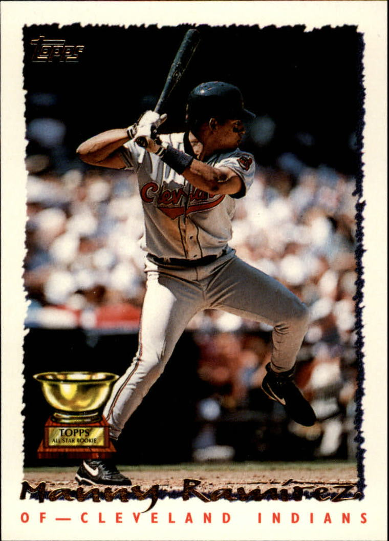 Details About 1995 Topps Baseball Card 577 Manny Ramirez