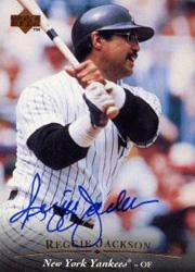 1995 Upper Deck Autographs #AC1 Reggie Jackson