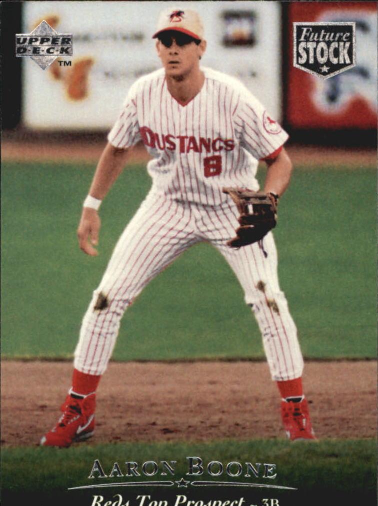 1995 Upper Deck Minors Future Stock #95 Aaron Boone