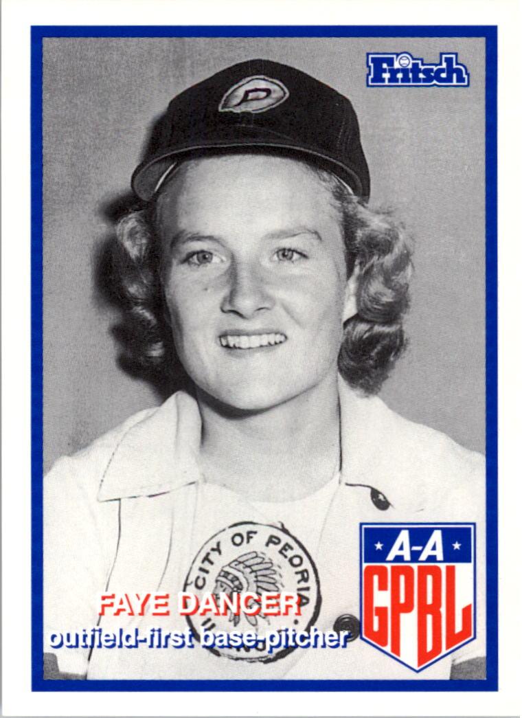 1995-96 Fritsch AAGPBL #252 Faye Dancer