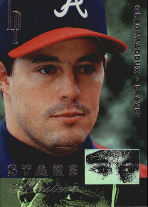 1996 Leaf Preferred Staremaster #8 Greg Maddux