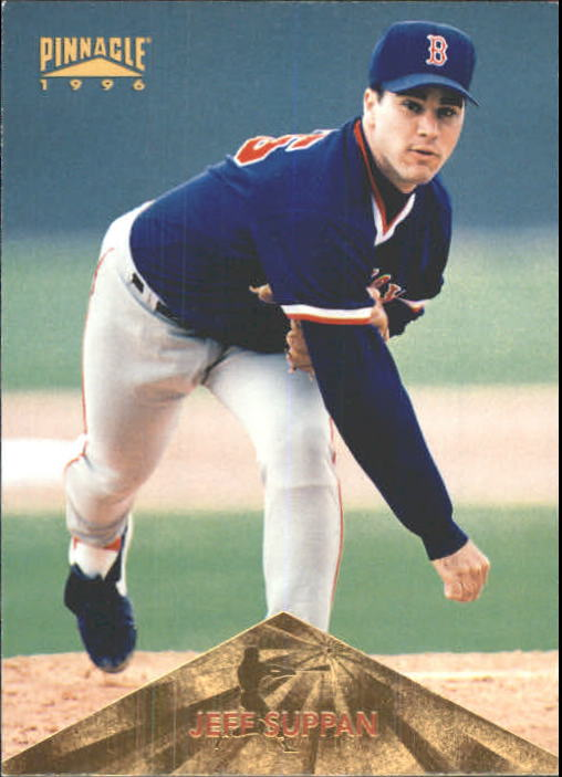 1996 Pinnacle #387 Jeff Suppan