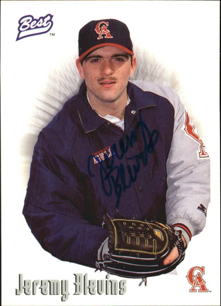 1996 Best Autographs #6 Jeremy Blevins