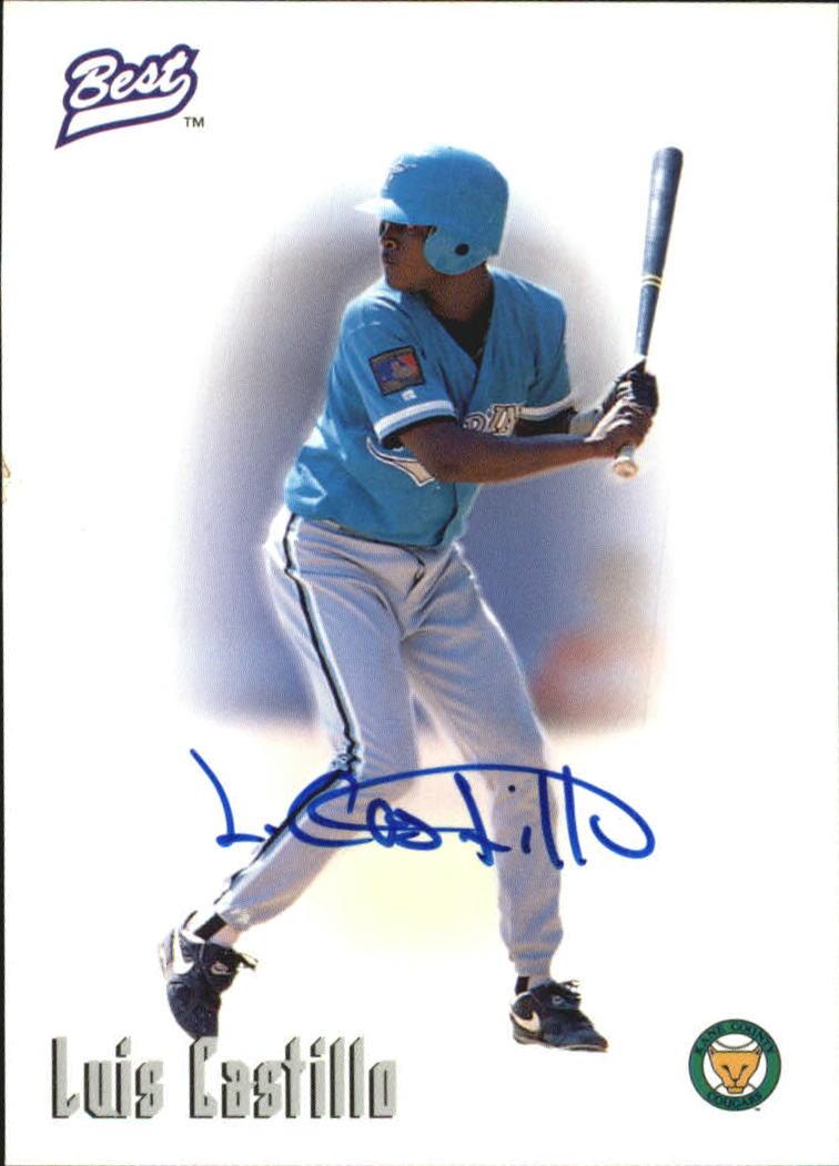 1996 Best Autographs #12 Luis Castillo