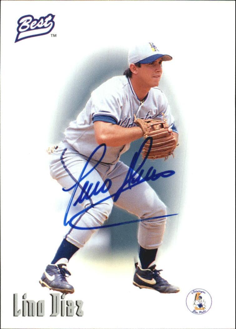 1996 Best Autographs #16 Lino Diaz