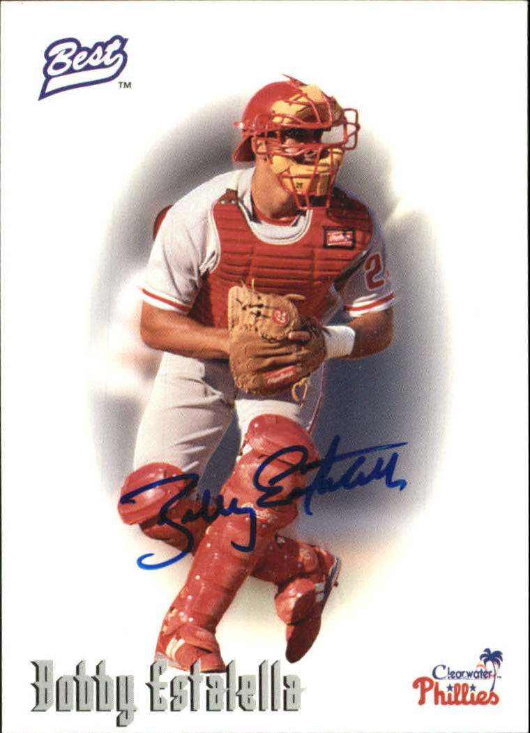 1996 Best Autographs #19 Bobby Estalella