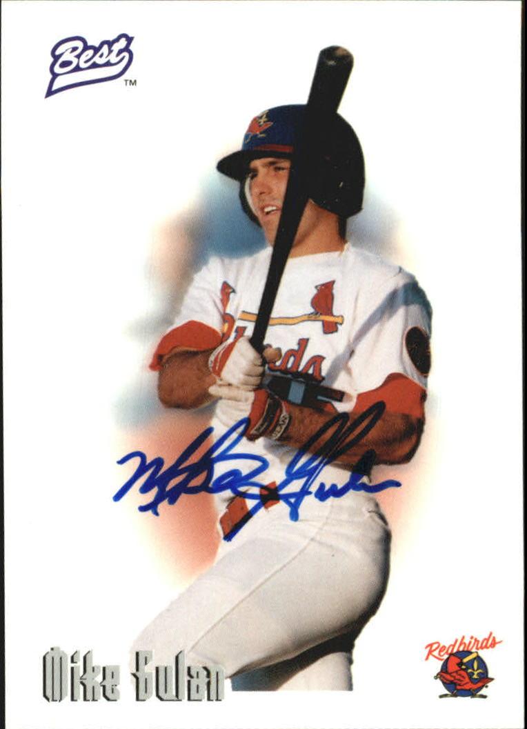 1996 Best Autographs #24 Mike Gulan