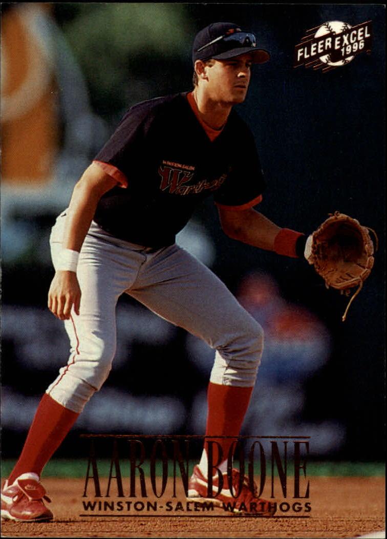 1996 Excel #146 Aaron Boone