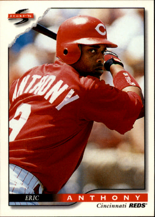 1996 Score #415 Eric Anthony