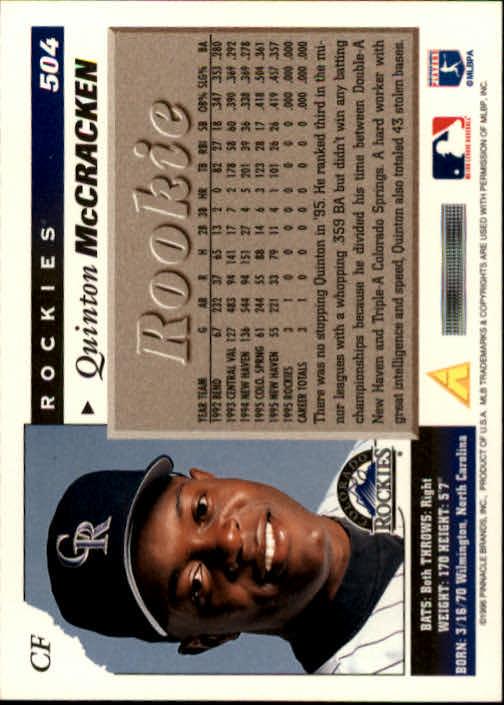 1996-Score-Baseball-501-517-Your-Choice-GOTBASEBALLCARDS thumbnail 9