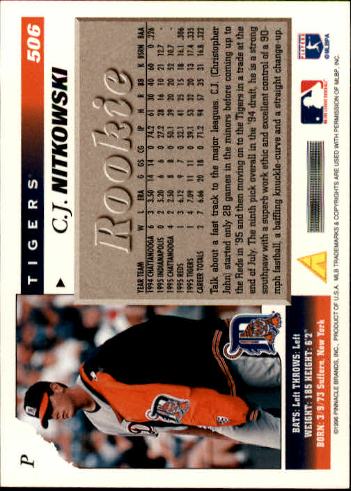 1996-Score-Baseball-501-517-Your-Choice-GOTBASEBALLCARDS thumbnail 13