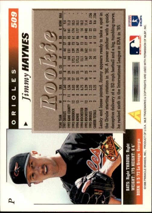 1996-Score-Baseball-501-517-Your-Choice-GOTBASEBALLCARDS thumbnail 19