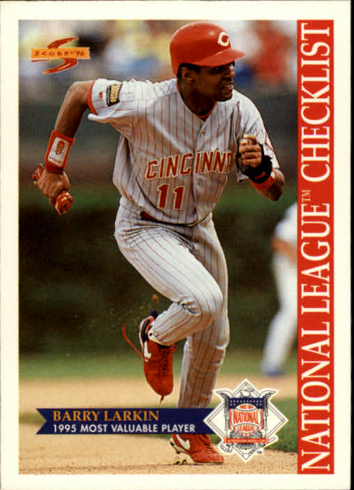 1996 Score #516 Barry Larkin CL