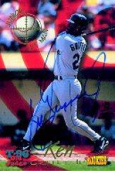 1996 Signature Rookies Old Judge Ken Griffey Jr. Signatures #J1 Ken Griffey Jr.