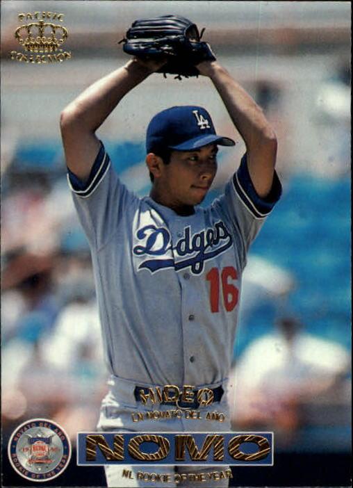 1996 Pacific #117 Hideo Nomo ROY
