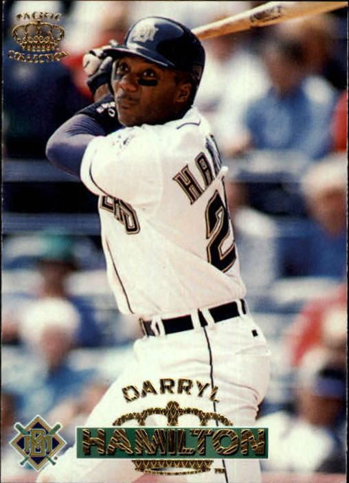 1996 Pacific #348 Darryl Hamilton