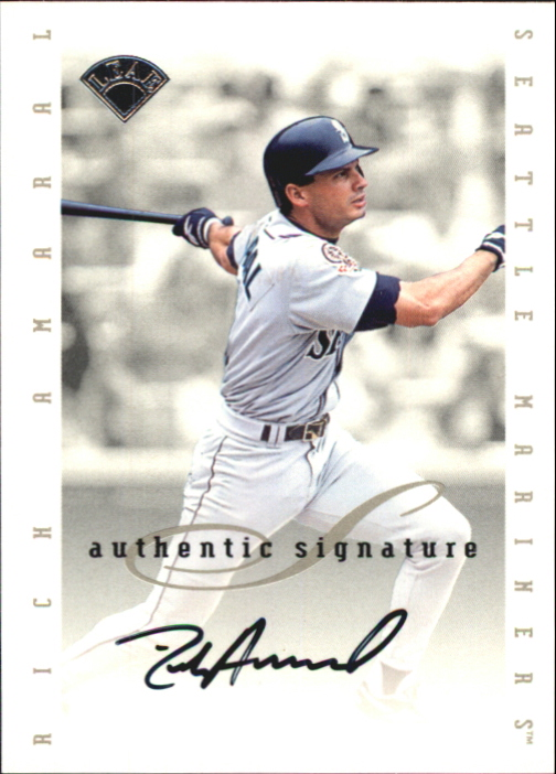 1996 Leaf Signature Extended Autographs #3 Rich Amaral