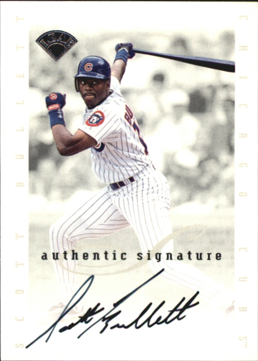 1996 Leaf Signature Extended Autographs #19 Jay Buhner SP/1000