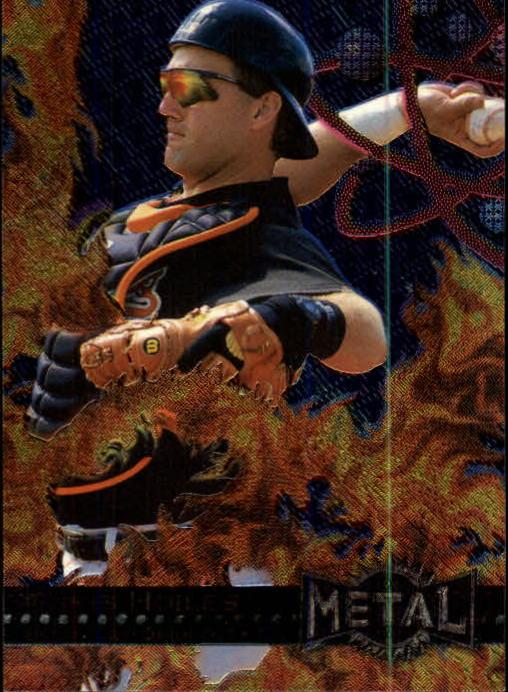 1996 Metal Universe #4 Chris Hoiles