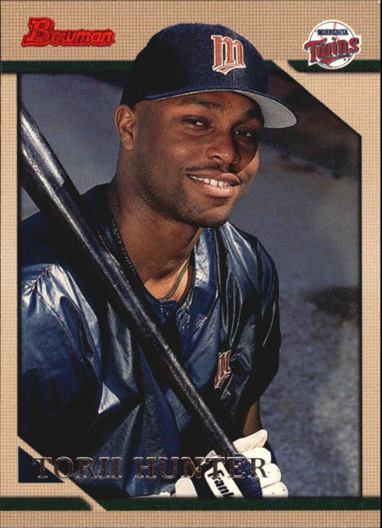 1996 Bowman #111 Torii Hunter