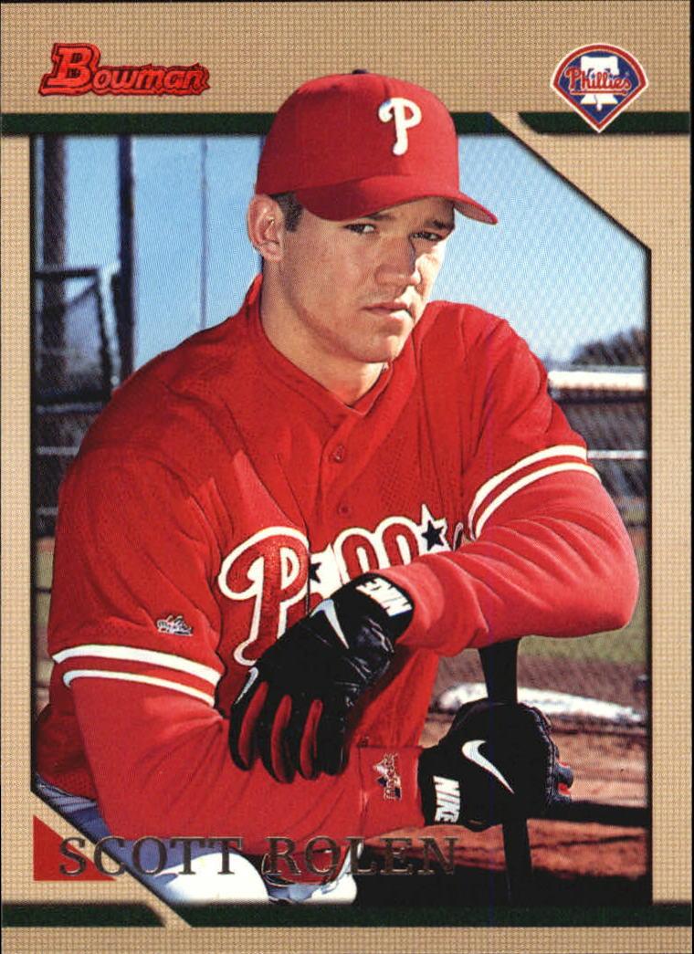 1996 Bowman #114 Scott Rolen