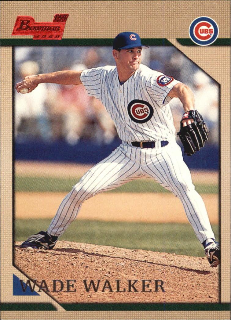 1996 Bowman #117 Wade Walker RC