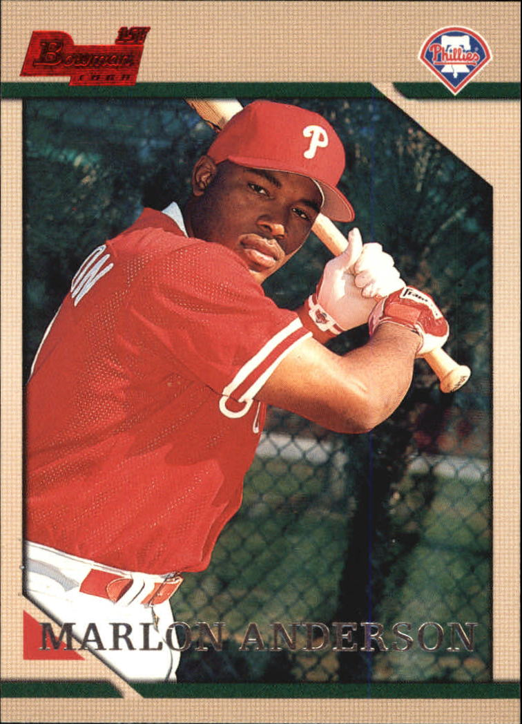 1996 Bowman #120 Marlon Anderson RC