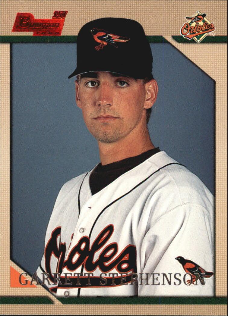 1996 Bowman #122 Garrett Stephenson RC