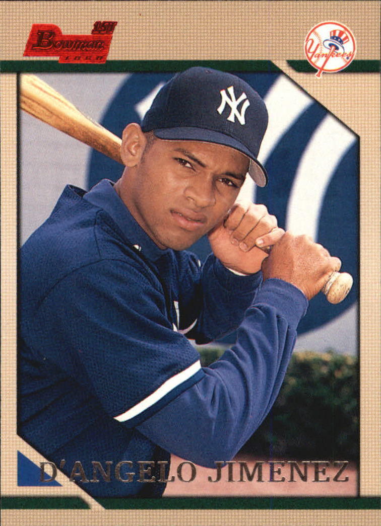 1996 Bowman #124 D'Angelo Jimenez RC