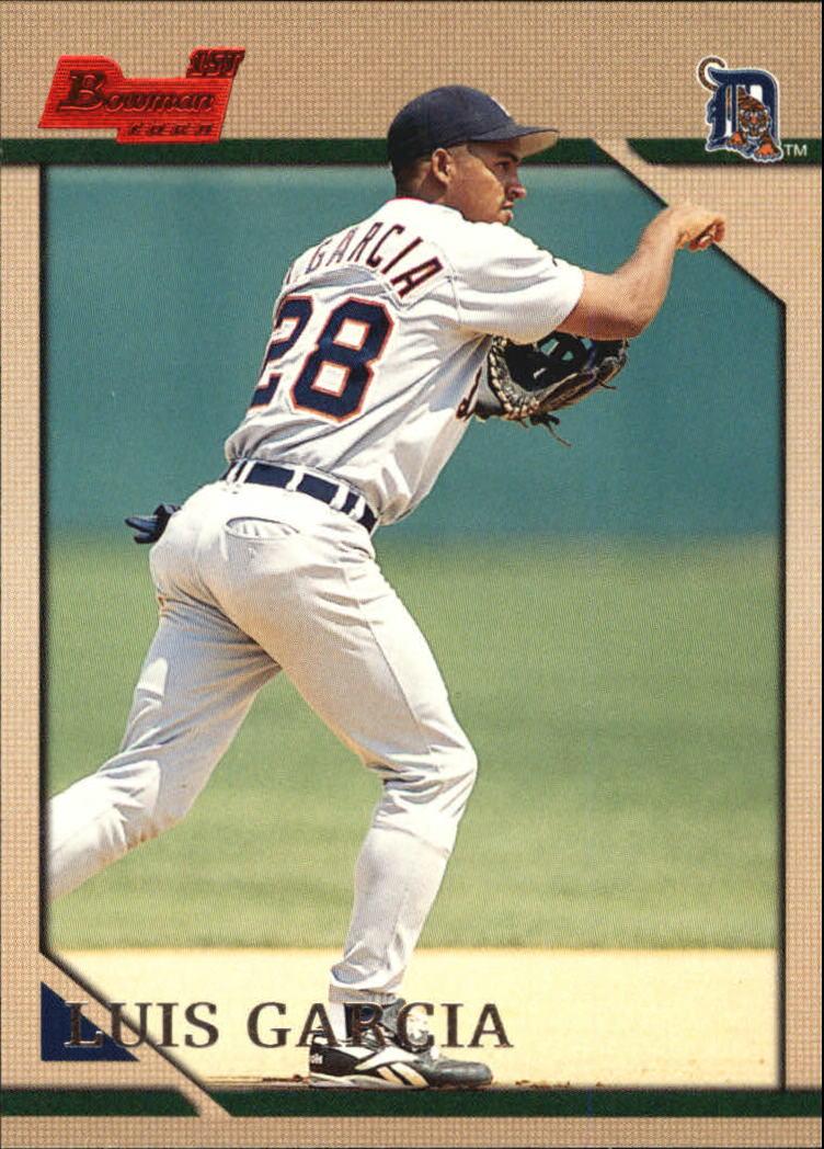 1996 Bowman #138 Luis R.Garcia RC