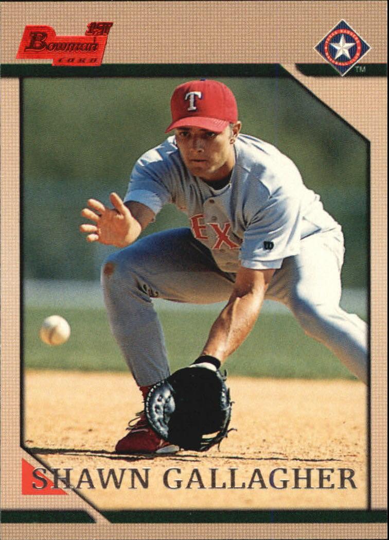 1996 Bowman #150 Shawn Gallagher RC