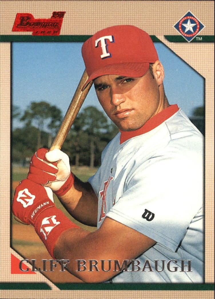 1996 Bowman #156 Cliff Brumbaugh RC