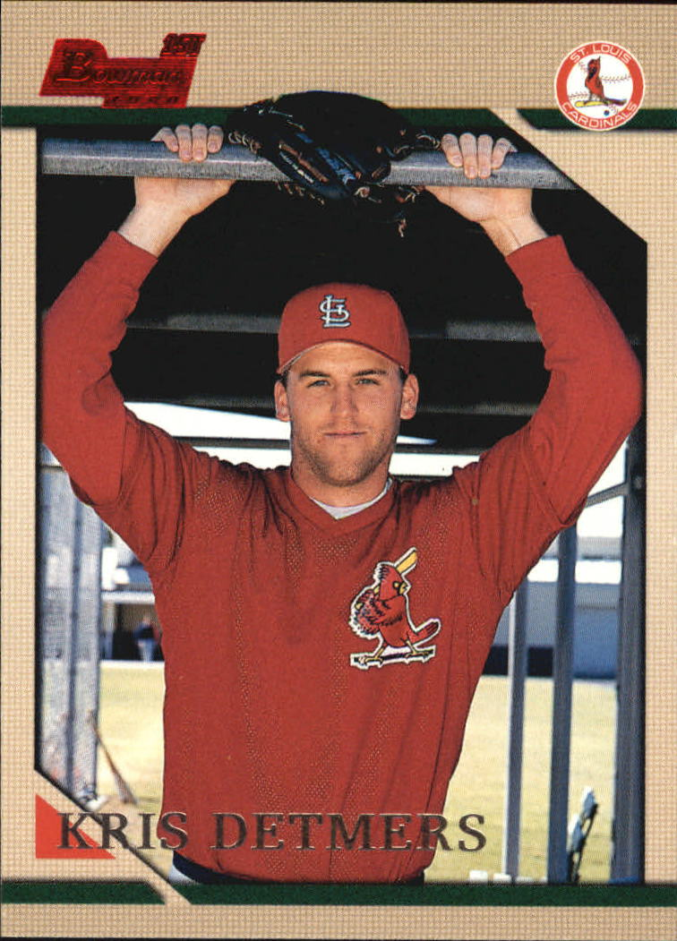 1996 Bowman #160 Kris Detmers RC