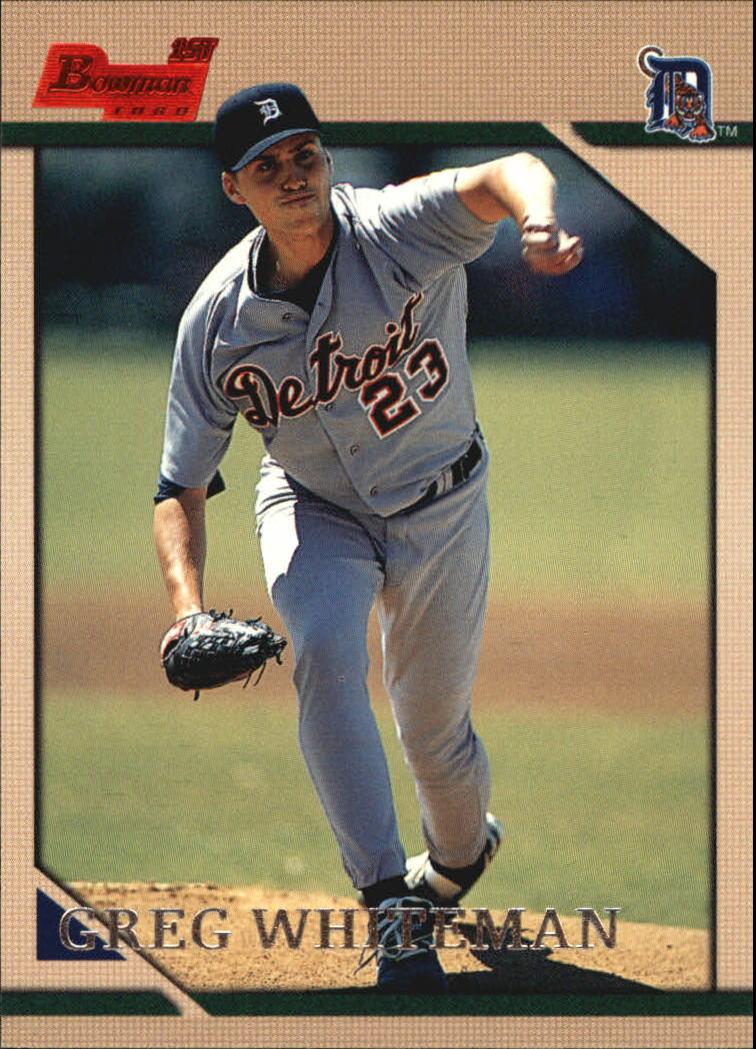 1996 Bowman #162 Greg Whiteman RC