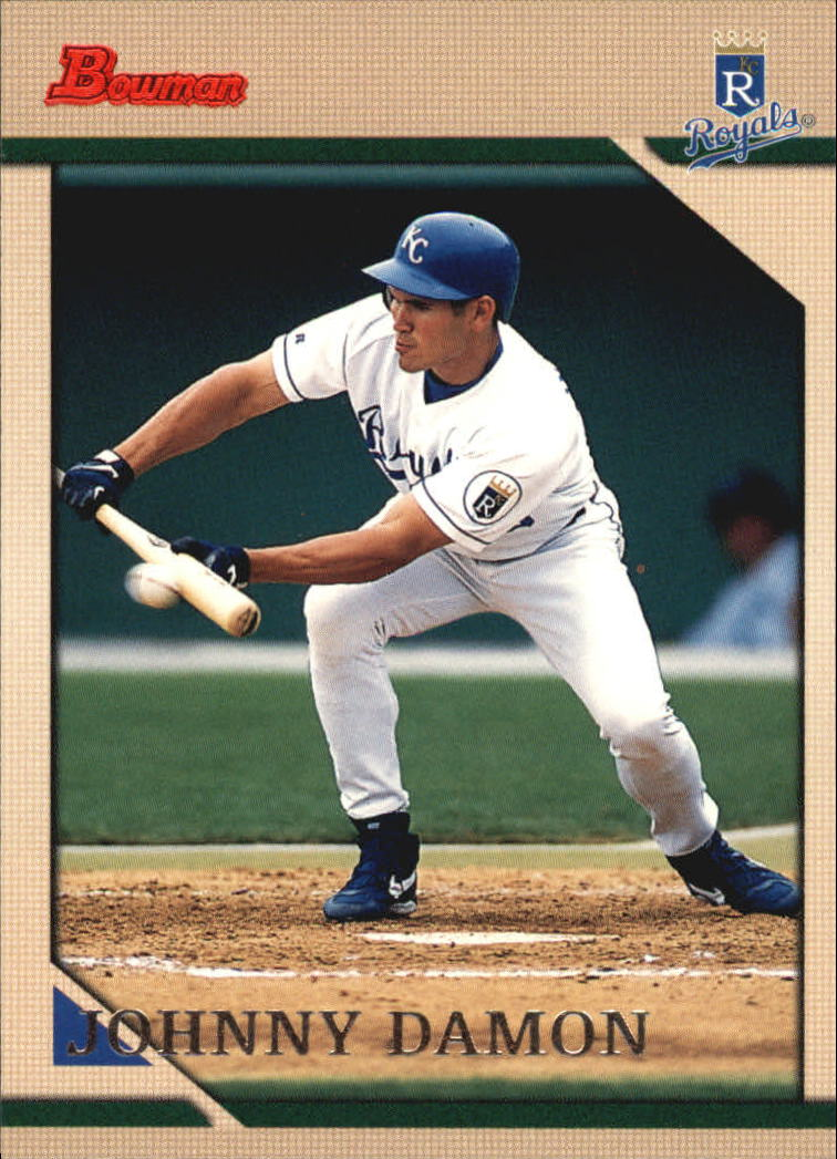 1996 Bowman #166 Johnny Damon