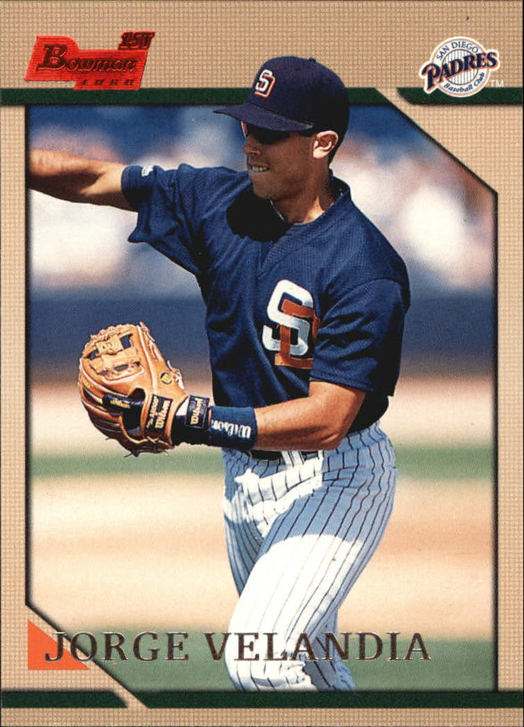 1996 Bowman #203 Jorge Velandia RC