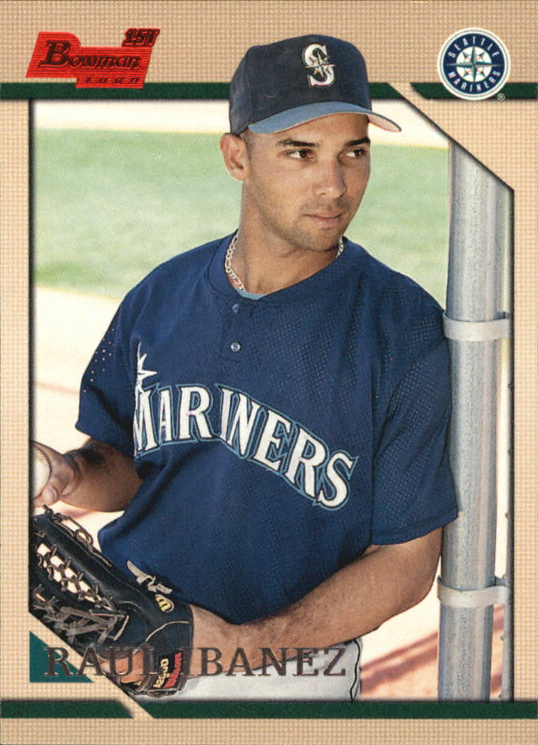 1996 Bowman #267 Raul Ibanez RC