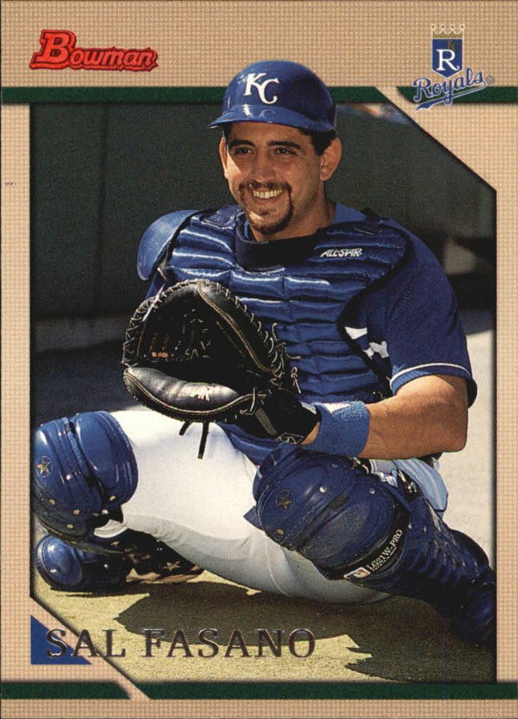 1996 Bowman #308 Sal Fasano
