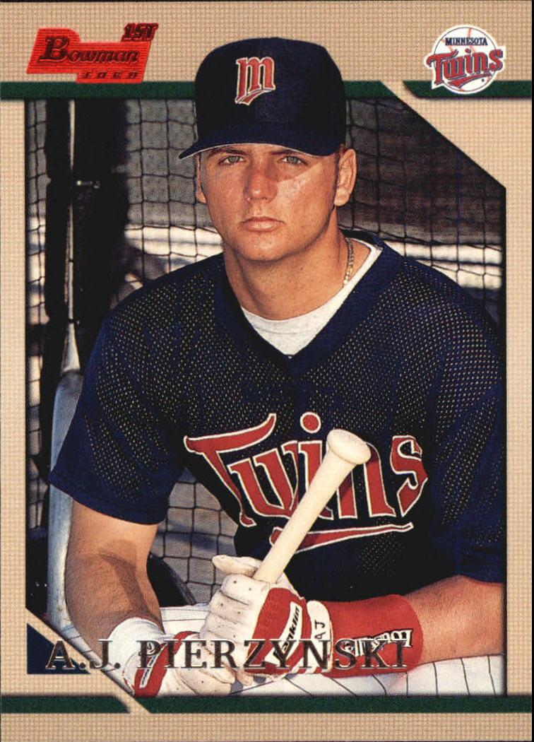 1996 Bowman #344 A.J. Pierzynski RC
