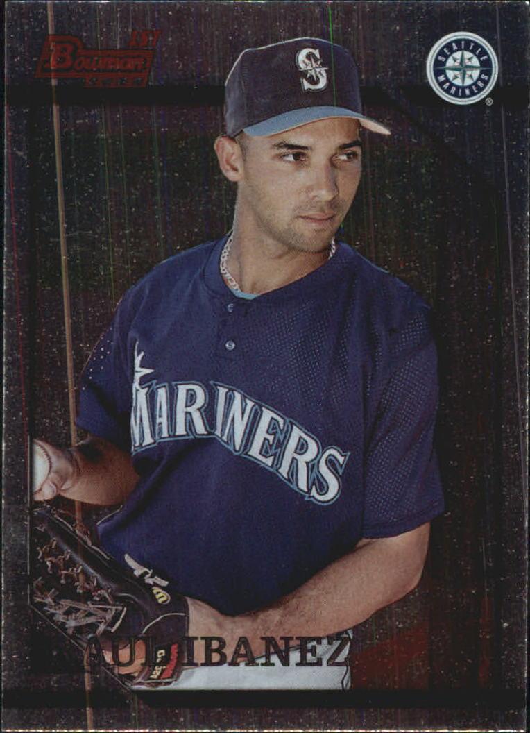 1996 Bowman Foil #267 Raul Ibanez