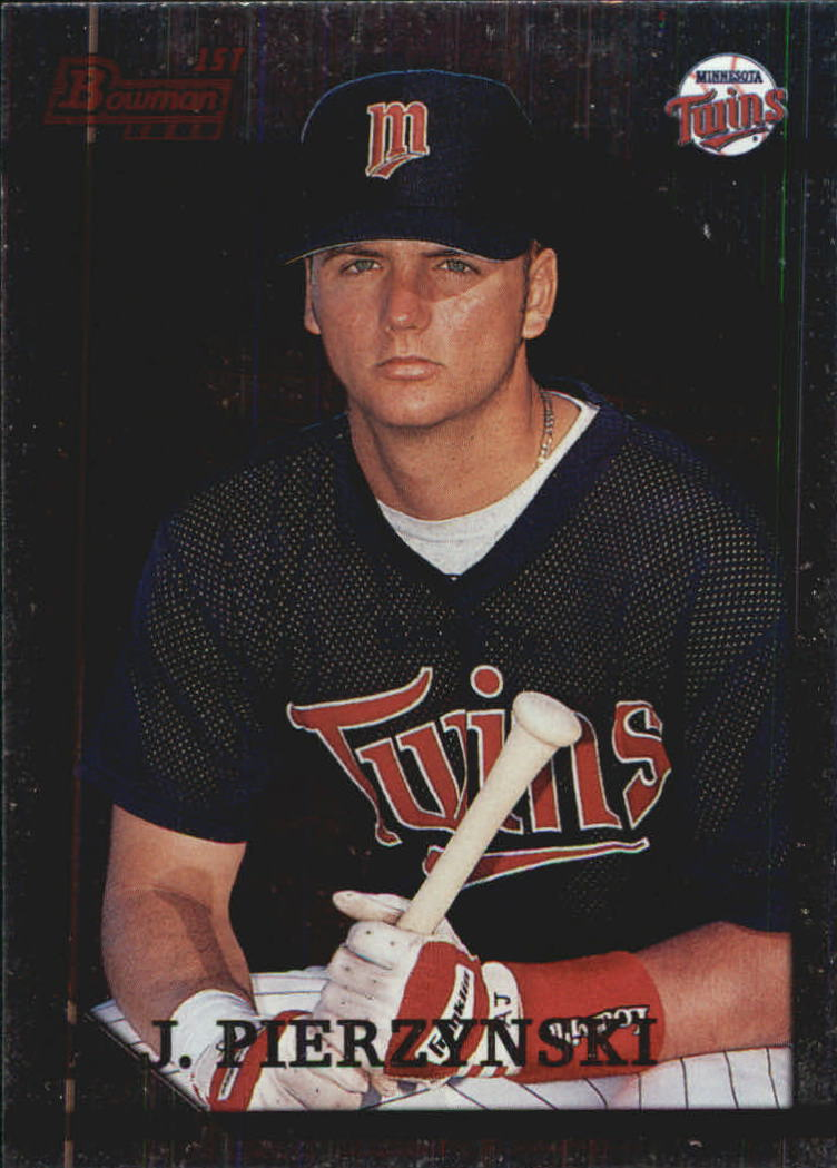 1996 Bowman Foil #344 A.J. Pierzynski