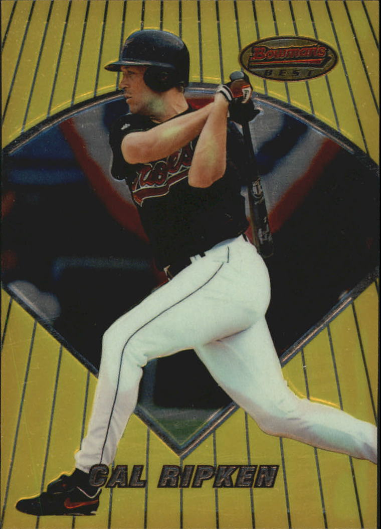 1996 Bowman's Best Previews #BBP28 Cal Ripken