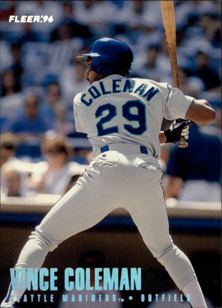 1996 Fleer Tiffany #233 Vince Coleman