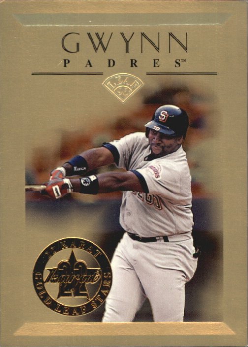 1996 Leaf Gold Stars #11 Tony Gwynn